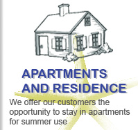 Apartments and Residence